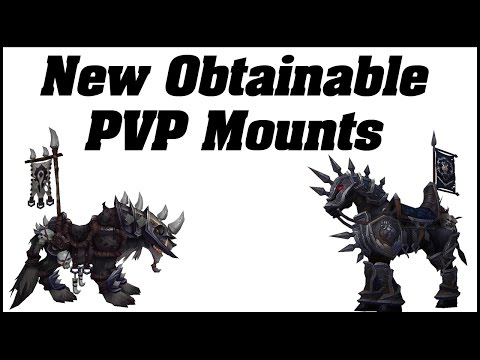 Legion: New Easy Obtainable PvP Mounts in 7.1