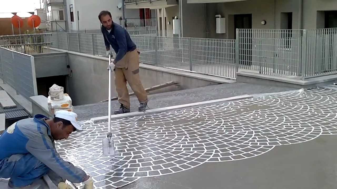 Gama costruzioni pavimenti stampati doovi for Pavimenti in resina fai da te