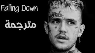 Lil peep & Xxxtentacion - Falling Down Lyrics مترجمة