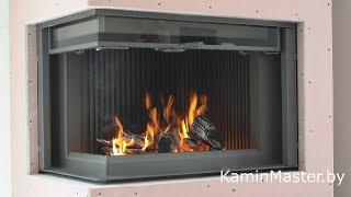 Топка ASTOV П2С 8457L (Астов) видео обзор камина. 3 минуты огня и ничего лишнего. #kaminMaster#ASTOV