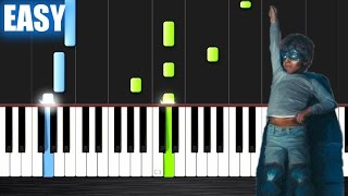 The Chainsmokers Coldplay Something Just Like This - EASY Piano Tutorial by PlutaX.mp3