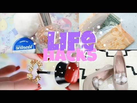 Thumbnail: 8 CRAZY LIFE HACKS every girl should know