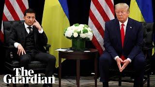 Ukrainian president addresses Trump phone call: 'Nobody pushed me'