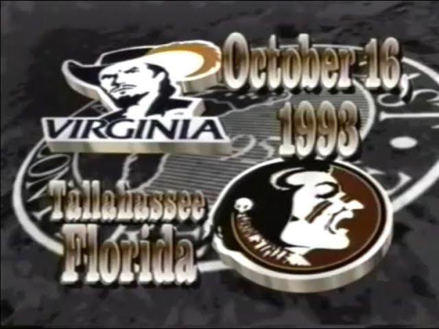 1993-fsu-football-vs-virginia-highlights