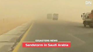 Sandstorm hit many areas in Saudi Arabia - Sep. 21, 2020