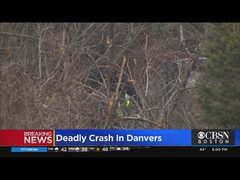 Police Investigate Deadly Crash In Danvers