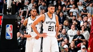 Cleveland Cavaliers vs San Antonio Spurs - January 14, 2016