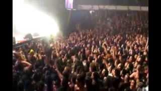 Almafuerte - Desencuentro en vivo 09/08/2014 Estadio Malvinas Argentinas
