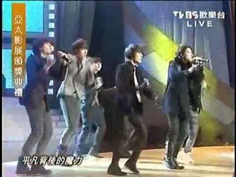 Super Junior-M perform on 2009 Asia Pacific Film Festival