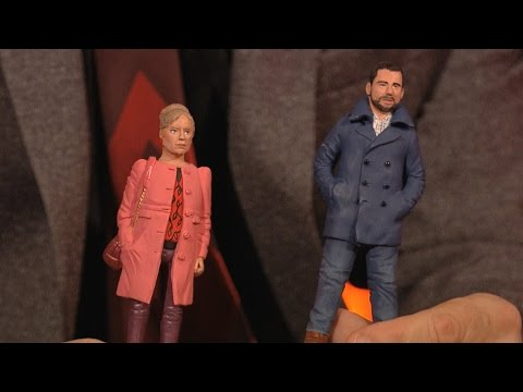 The EastEnders minature dolls  The Graham Norton : EastEnders Special  BBC One