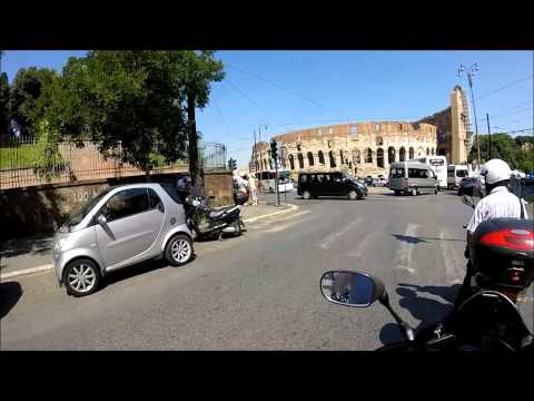 # 6 My Europe Trip on the Motorbike - Venice to Rome and the Rome 10/06/2015