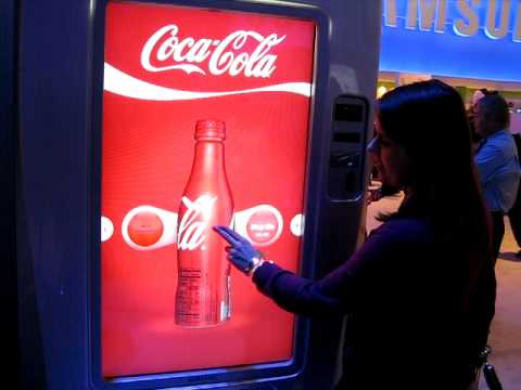 Fountain Drink Machine Touch Screen