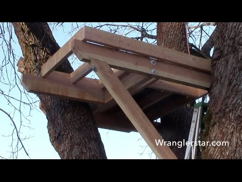 How To Build A Treehouse | 11 Wranglerstar