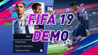 VÉGRE MEGÉRKEZETT! ❤️ FIFA 19 DEMO - TWITCH STREAM #1