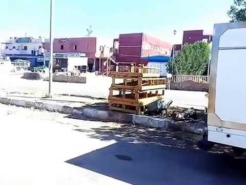 Не туристический Египет. Промышленные улицы Шарм Эль Шейха
