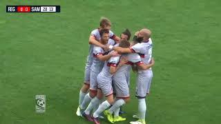 Reggiana - Sambenedettese 0-2, highlights