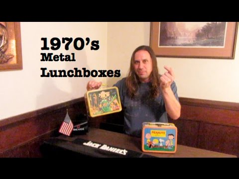 1970's Metal Lunch Box: How much is it worth?