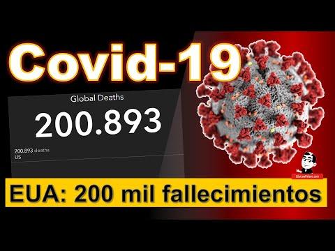 Estados Unidos superó 200 mil fallecimientos ☣ Cifras de la pandemia COVID-19 ☣ Septiembre 23 2020