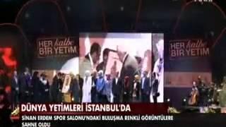 Dünya yetimleri İstanbul'da buluştu