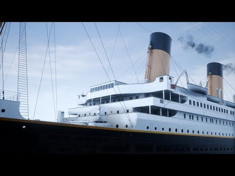 Unreal Engine 4 - The Titanic At Unbelievable Full Scale!! - New 2018/2019 game!  (1440p 60fps)