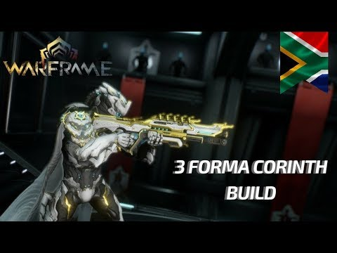 #Warframe | #NoRiven | 3 Forma God Killer Corinth Build | How To Build Weapons