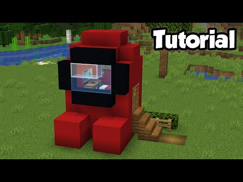 Minecraft: How to Build an Among Us House | NOOB vs PRO House Tutorial