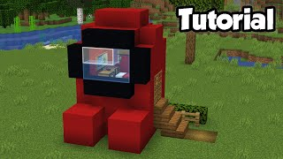 Minecraft: How to Buİld an Among Us House | NOOB vs PRO House Tutorial