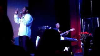 """Keith Sweat performing """"Nobody"""" live at Yoshi's in San Francisco CA on February 22, 2012"""