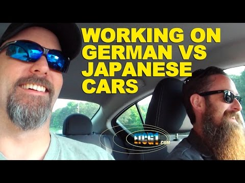 Working on German vs Japanese Cars