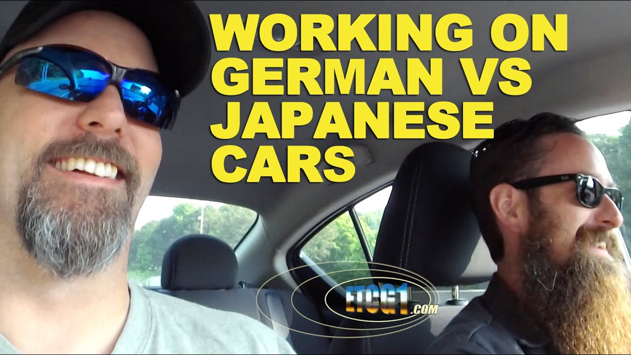 working on german vs japanese cars youtube. Black Bedroom Furniture Sets. Home Design Ideas
