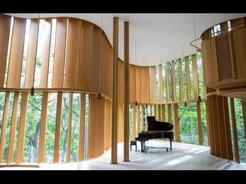 Integral House: A Space For Music Designed By A Millionaire Mathematician