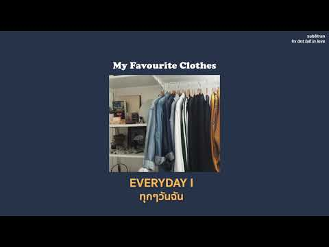[THAISUB] RINI - My Favourite Clothes แปลเพลง