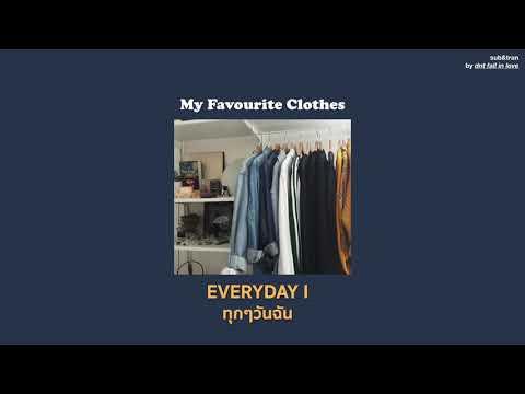 [THAISUB] RINI - My Favourite Clothes แปลเพลง