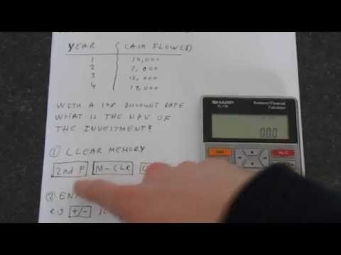 sharp-el-738:-net-present-value-(npv)