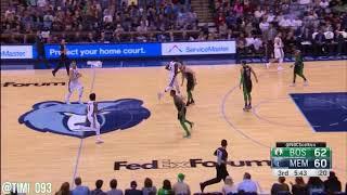 Boston Celtics Defensive Highlights Vs Memphis Grizzlies (12/16/2017)