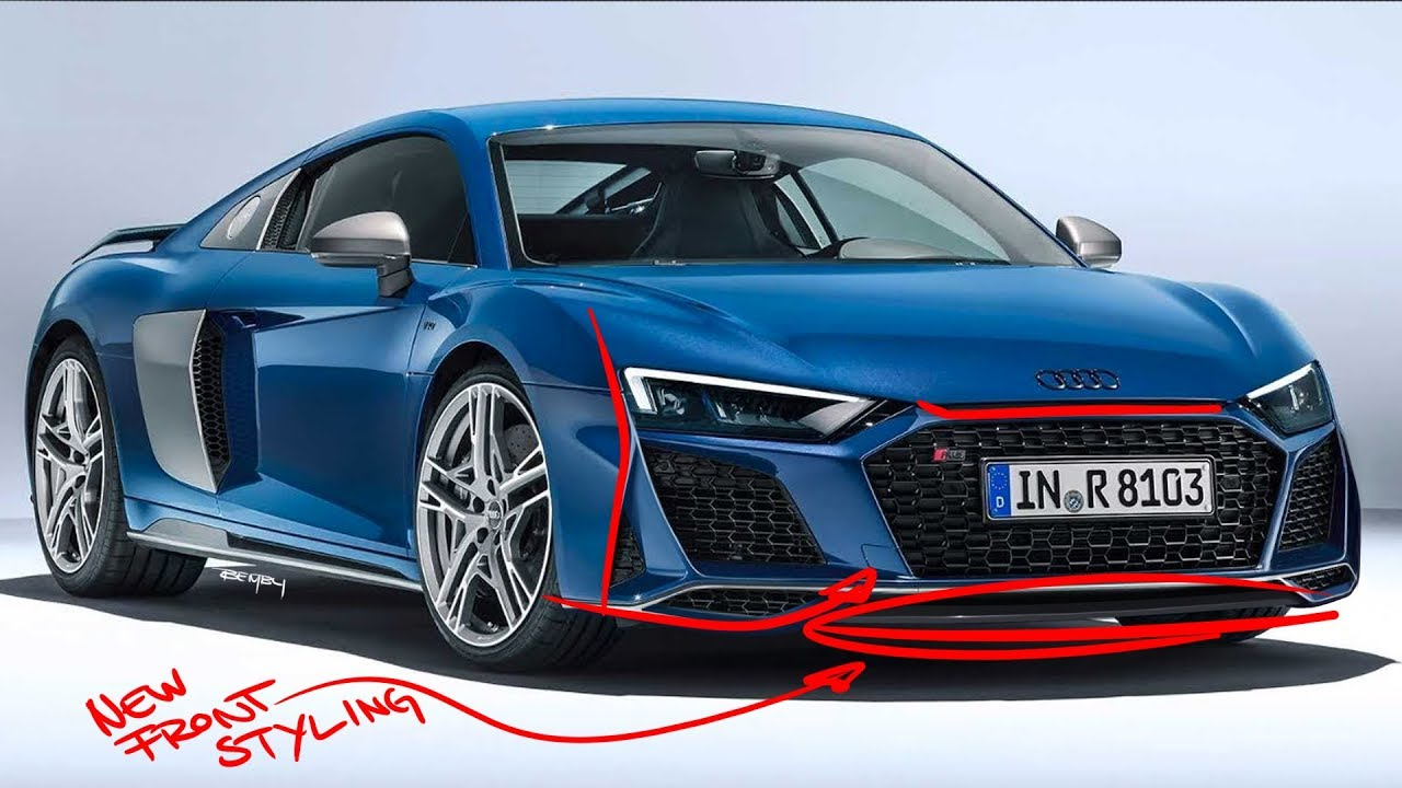 2020 audi r8 re-design - did they get it right