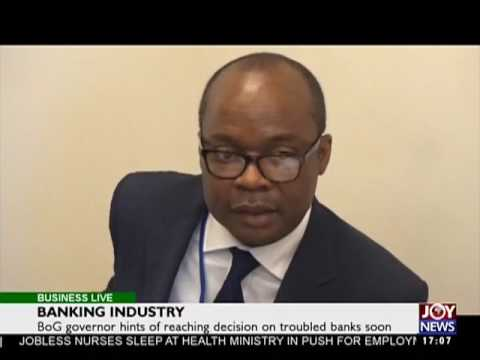 Banking Industry - Business Live on JoyNews (25-4-17)