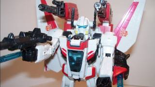 TRANSFORMERS CLASSICS JETFIRE ACTION FIGURE TOY REVIEW