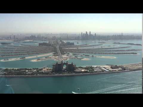 Helicopter Flight over Dubai, Palm Jumeirah Sightseeing, Atlantis Hotel