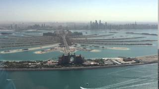 Helicopter Flight over Dubai, Palm Jumeirah Sightseeing, Atlantis Hotel