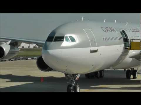 Qatar Amiri Flight Airbus A340-200 VIP Landing at Maastricht (Full HD)