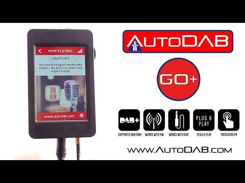 AutoDAB GO+: Universal Plug & Play Digital Radio
