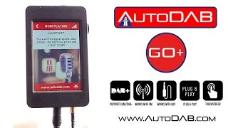 AutoDAB GO+: Universal Plug & Play Digital Radio