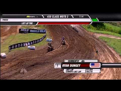 2011 AMA Motocross Round 3 High Point - 450 - HD 720p