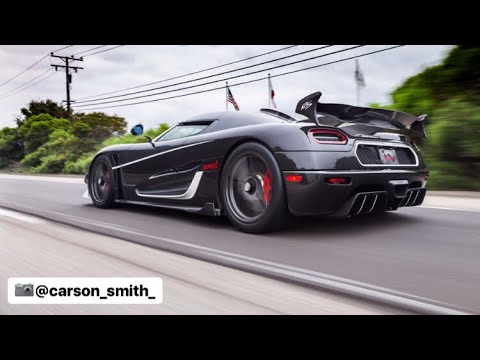 Riding in a Koenigsegg Agera RS DRAKEN