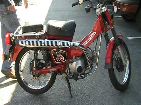 1986 honda ct 110 trail motorcycle bike sold youtube for Honda in ct