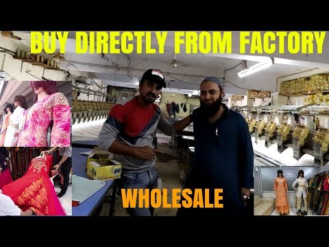 How Kurtis Are Made | Full Factory Tour | Surat | Buy Directly From Factory Wholesale | Babas vlogs