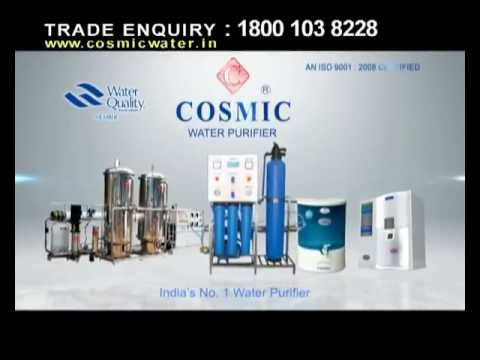 Cosmic Water purifer pure water 25sec.mp4