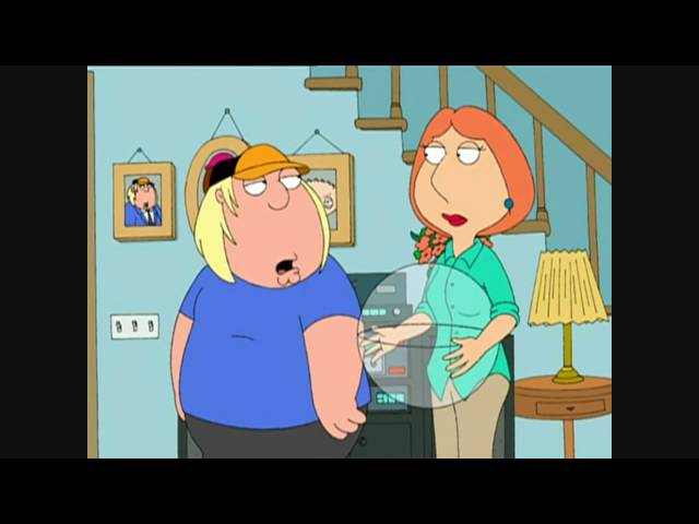 Als Peter Anabolika nahm Family Guy HD