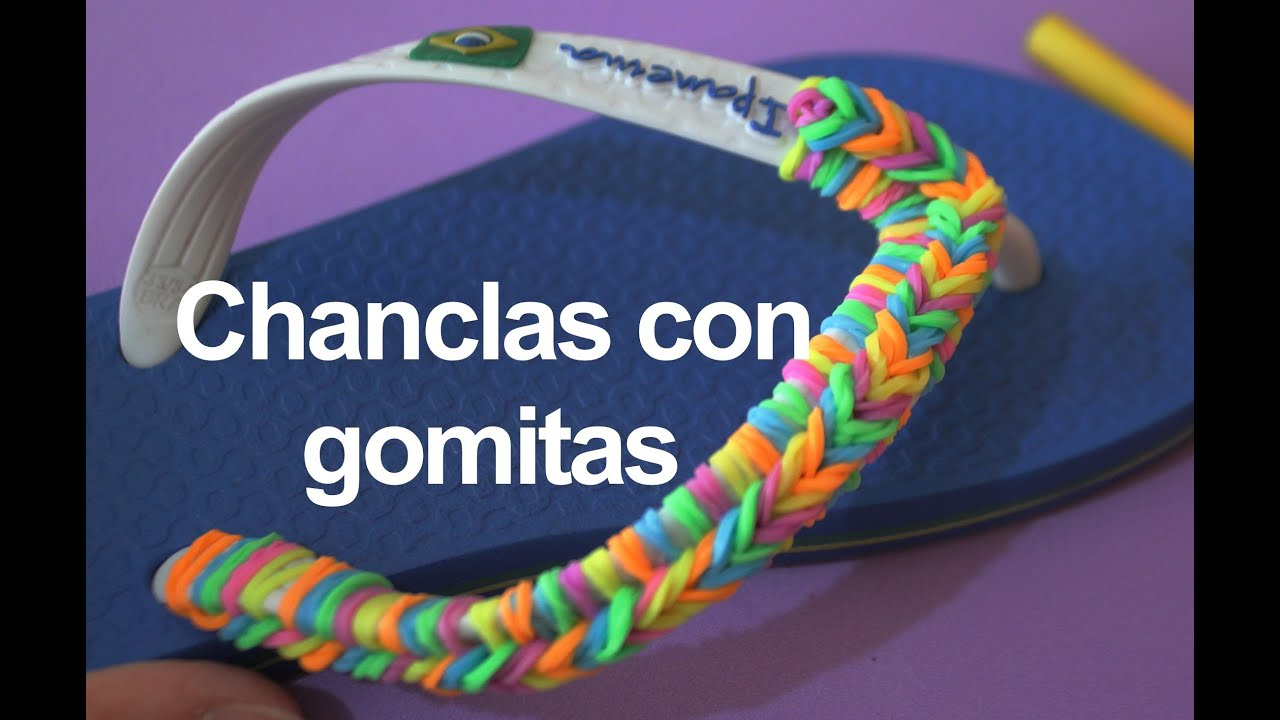 Tutoriales Para Customizar ChanclasManualidades 10 Diy shrtQd